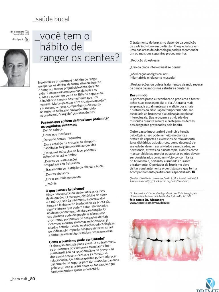 Cult 67 – Você tem o hábito de ranger os dentes?