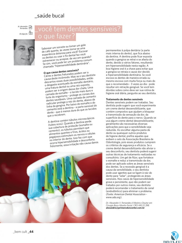 Cult 76 – Você tem dentes sensíveis? O que fazer?