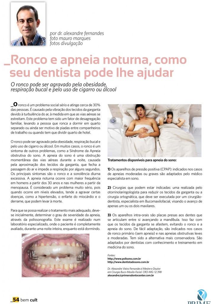 Cult 84 – Ronco e apnéia noturna, como seu dentista pode lhe ajudar