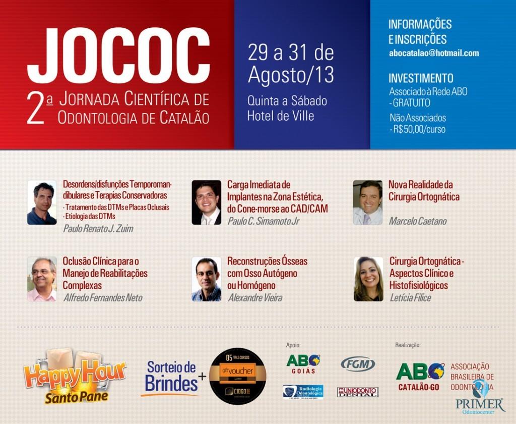 JOCOC – 2ª Jornada Científica de Catalão