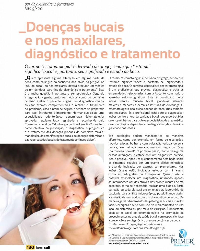 Cult 89 – Doenças bucais e nos maxilares, diagnóstico e tratamento